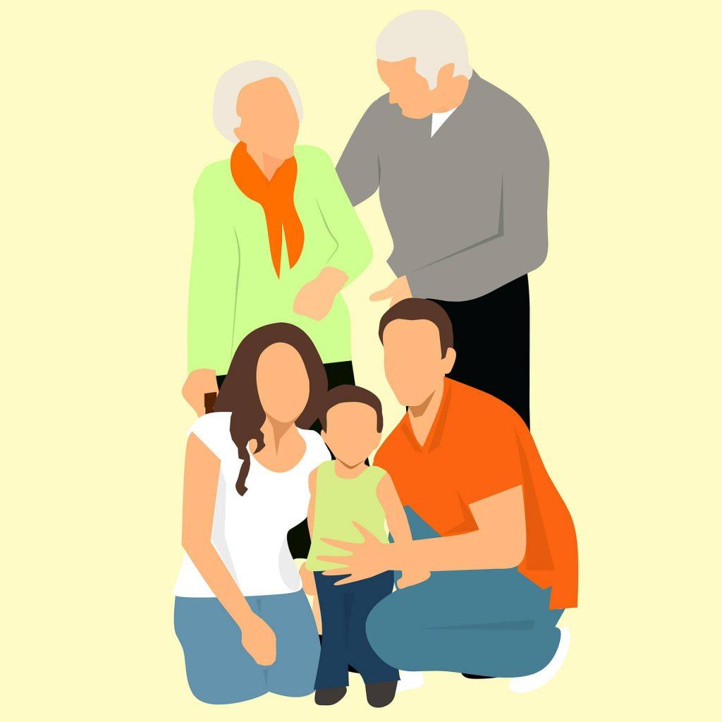 Financiación con la familia